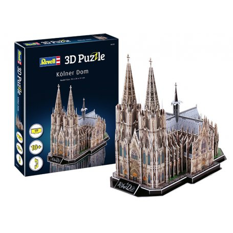 Kölner Dom puzzle 3D - Revell 00203