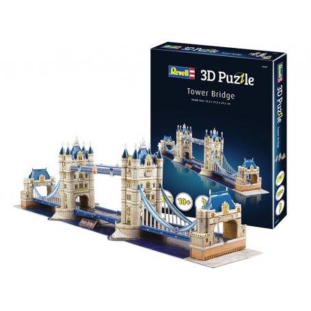 Tower Bridge de Londres puzzle 3D - Revell 00207