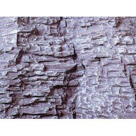 Heki 3139 - 2x plaque de décor rocher stratifié - 40 x 18 cm