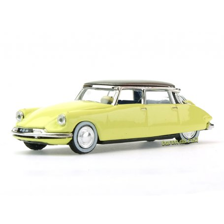 Citroën DS 19 1958 Jonquille Yellow - HO 1/87 - NOREV 157085