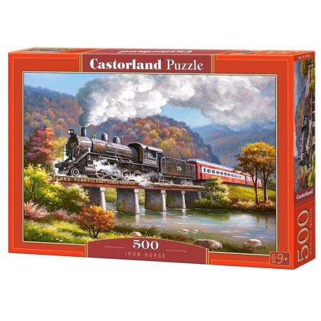 Iron Horse - Puzzle 500 pièces - CASTORLAND
