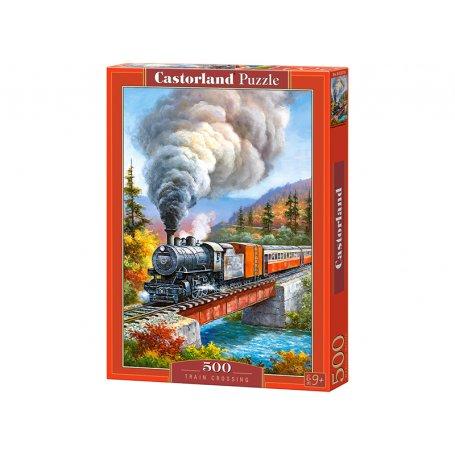 Train Crossing - Puzzle 500 pièces - CASTORLAND