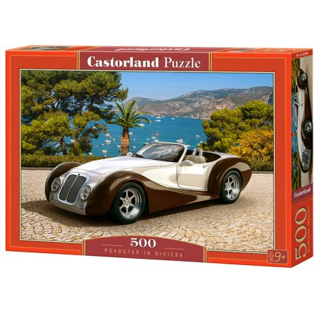 Roadster in Riviera - Puzzle 500 pièces - CASTORLAND