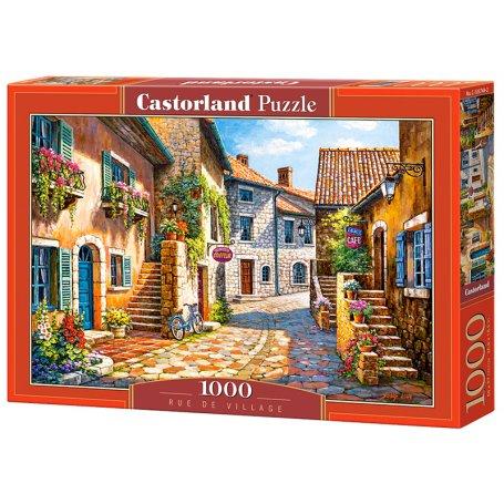 Rue de Village - Puzzle 1000 pièces - CASTORLAND
