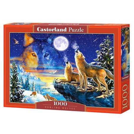 Howling Wolves - Puzzle 1000 pièces - CASTORLAND