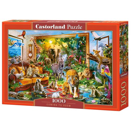 Coming To Room - Puzzle 1000 pièces - CASTORLAND