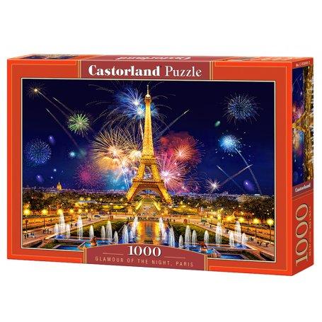 Glamour of the Night, Paris - Puzzle 1000 pièces - CASTORLAND