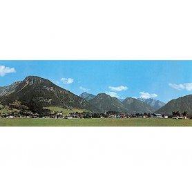 Fond de décor montagnes - FALLER 180516