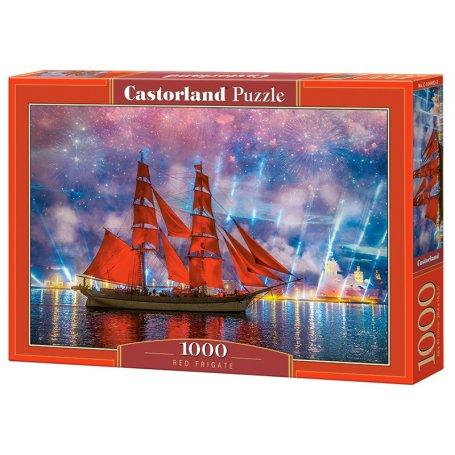 Red Frigate - Puzzle 1000 pièces - CASTORLAND