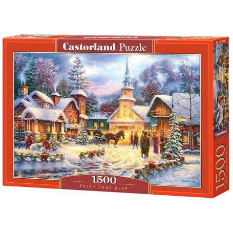 Faith Runs Deep - Puzzle 1500 pièces - CASTORLAND