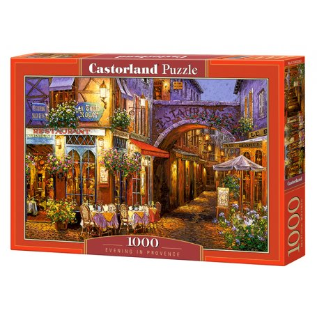 Evening in Provence - Puzzle 1000 pièces - CASTORLAND