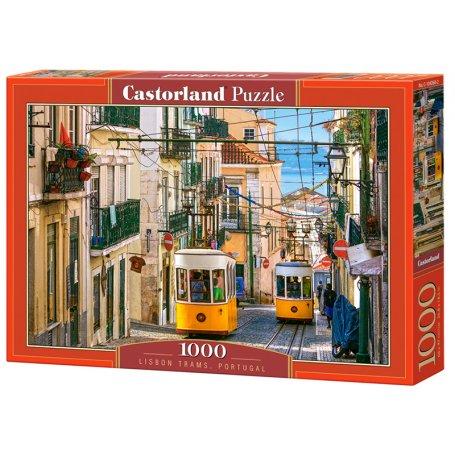 Lisbon Trams, Portugal - Puzzle 1000 pièces - CASTORLAND