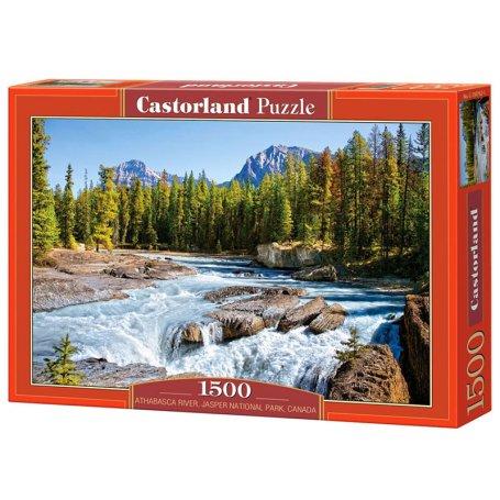 Athabasca River, Jasper National Park, Canada - Puzzle 1500 pièces - CASTORLAND