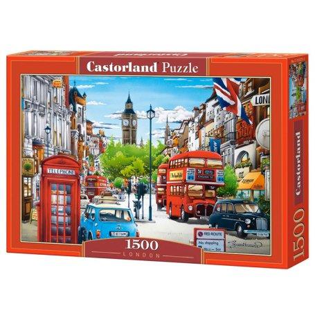London - Puzzle 1500 pièces - CASTORLAND