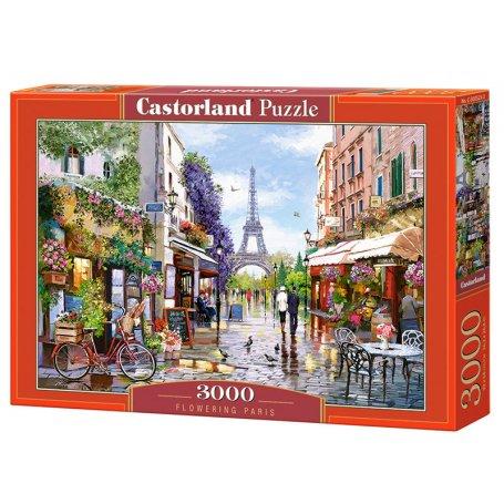 Flowering Paris - Puzzle 3000 pièces - CASTORLAND