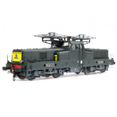BB 12079 livrée verte avec faces jaunes SNCF analogique - ép IV - HO 1/87 - JOUEF HJ2338