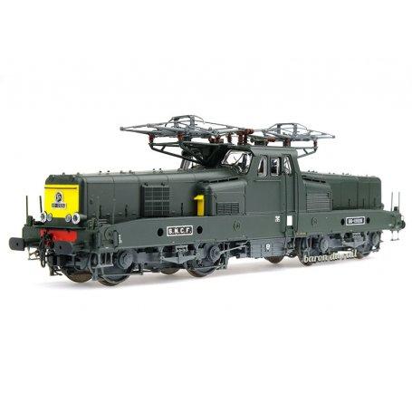 BB 12026 livrée verte avec faces jaunes SNCF digitale son - ép IV - HO 1/87 - JOUEF HJ2339S