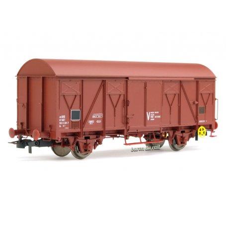 Wagon couvert à 2 essieux Us SNCF ép. IV-V - HO 1/87 - JOUEF HJ6190