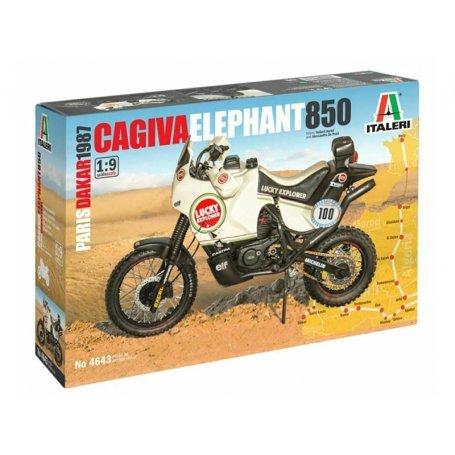 Cagiva Elephant 850 Dakar 1987 - échelle 1/9 - ITALERi 4643