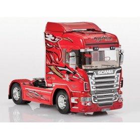 Italeri 3882 - Camion Scania R560 RED GRIFFIN - échelle 1/24