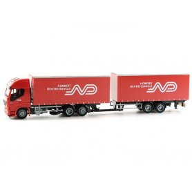 Camion IVECO Highway avec remorque N. Dentressangle - HO - AWM 75444