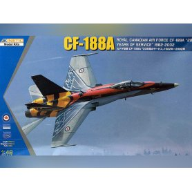 CF-188A RCAF Canadian Air Force 20 years services - 1/48 - KINETIC K48079