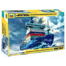 Brise-Glace Arktika à propulsion nucléaire - 1/350 - ZVEZDA 9044