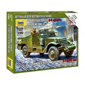 M3 Scout Car - 1/100 - ZVEZDA 6273