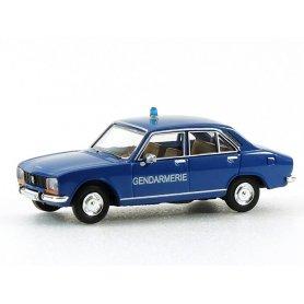 Peugeot 504 gendarmerie - HO 1/87 - Brekina 29107