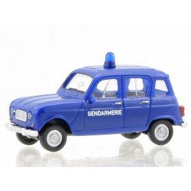 Renault R4 gendarmerie - HO 1/87 - WIKING 0224 04