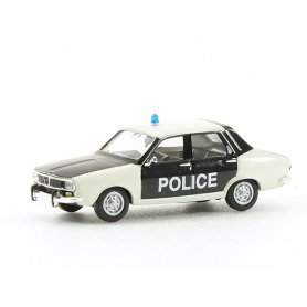 Renault 12 POLICE PIE  - HO 1/87 - Brekina 14506
