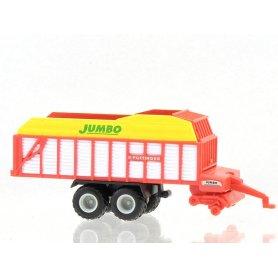 Remorque à foin Jumbo - N 1/160 - WIKING 0956 01