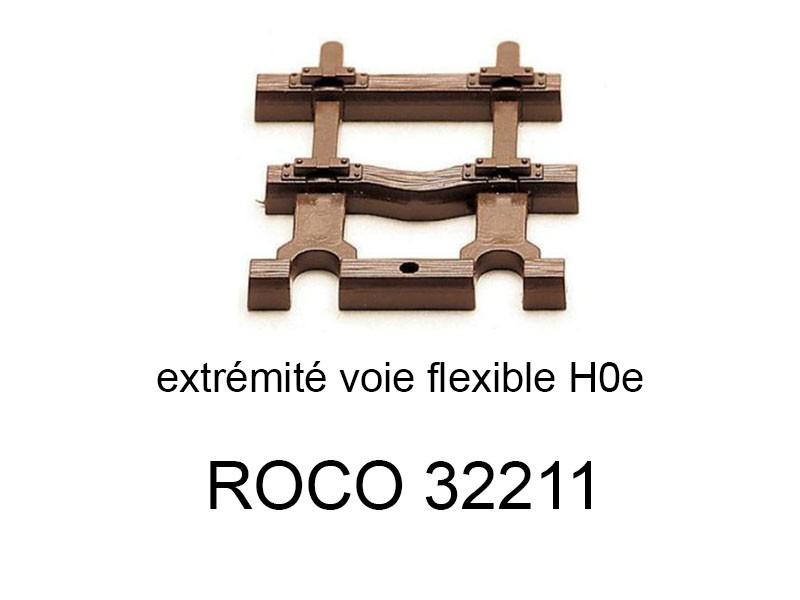 ROCO 32202 Rail droit 134.3 mm voie étroite HOe