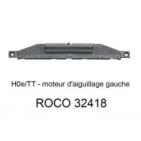 Moteur d'aiguillage gauche voie HOe - ROCO 32418