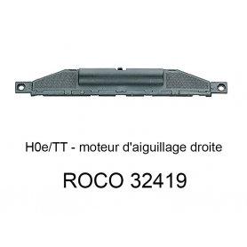 Moteur d'aiguillage droite voie HOe - ROCO 32419