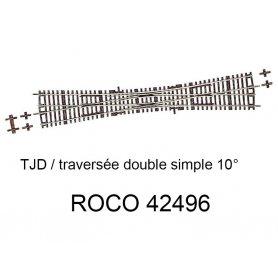 Traversée Jonction Double (TJD) 10 degrés - ROCO 42496