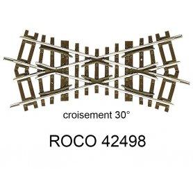 Croisement 119mm 30 degrés - ROCO 42498