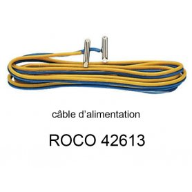 Eclisses avec fils d'alimentation code 83 - ROCO 42613