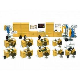 Mobilier de bureau - HO 1/87 - PREISER 17184