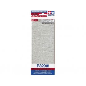 Tamiya P320 - Papier abrasif pour ponçage de finition