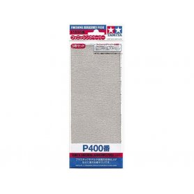 Tamiya P400 - Papier abrasif pour ponçage de finition