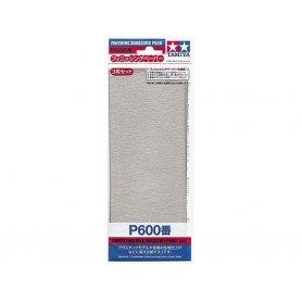 Tamiya P600 - Papier abrasif pour ponçage de finition