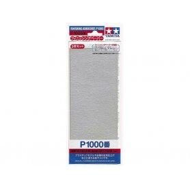 Tamiya P1000 - Papier abrasif pour ponçage de finition