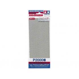 Tamiya P2000 - Papier abrasif pour ponçage de finition