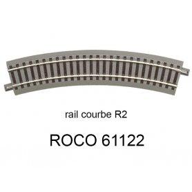 Rail de transition 100 mm voie Geoline HO ROCO 61120
