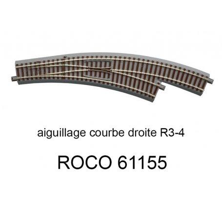 ROCO 61112 Rail droit G78 78 mm voie Geoline HO