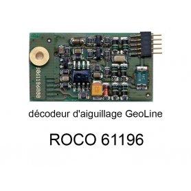 Décodeur digital pour moteur d'aiguillage en voie Geoline HO - ROCO 61196
