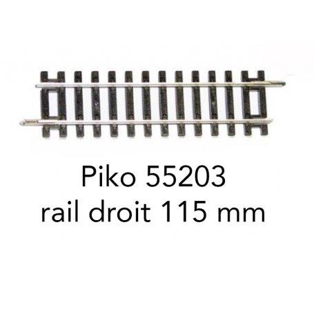 239 mm 15° Piko H0 55221 Aiguillage à droite Wr Neuf