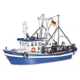 Chalutier bateau de pêche - HO - Kibri 39161