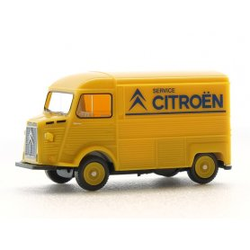 Citroën HY jaune logo Citroën - HO 1/87 - WIKING 0262 03